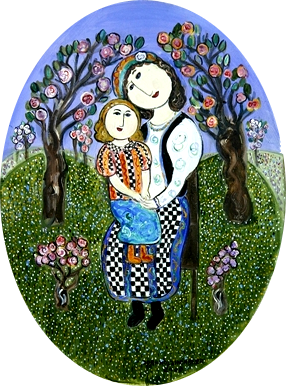 Picture of mother with child